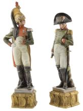 Bruno Merli | Due sculture in porcellana di Capodimonte | Two porcelain Capodimonte figurines