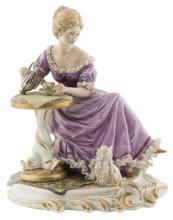 | Scultura in porcellana policroma di Capodimonte | A polychrome porcelain Capodimonte figurine