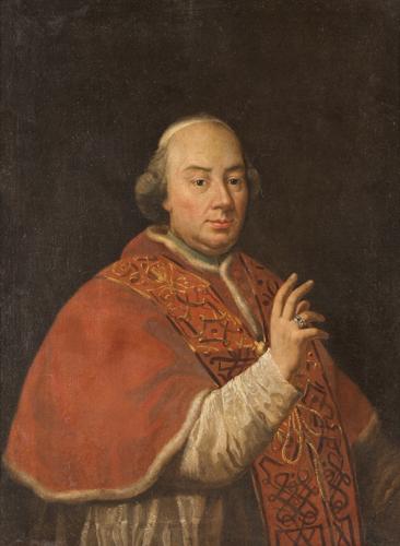 Pittore della fine del XVIII secolo | Ritratto di Papa Pio VI | A Portrait of Pius VI the Pope