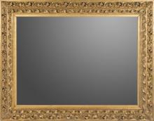 | Specchiera in legno dorato e intagliato | Nineteenth Century Mirror