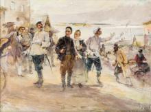 Scuola Russa inizio XX Secolo | Arrivo al porto | Arrival