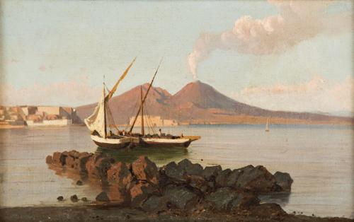Pittore del XIX secolo | Veduta di Napoli | Naples