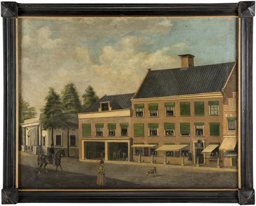 Scuola Inglese XIX secolo | Strada di Londra | London city street