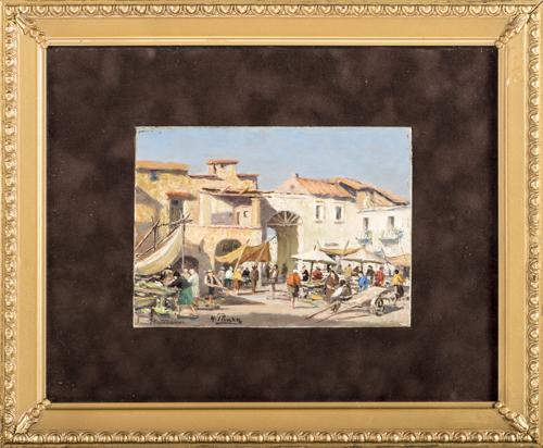 Giovanni Panza (Miseno 1894, Napoli 1989) | Mercato a Napoli | Naples Market