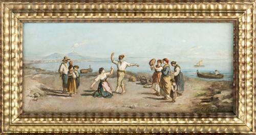 Ciappa Carlo (Attivo nel XIX e XX Secolo) | La tarantella | The Tarantella