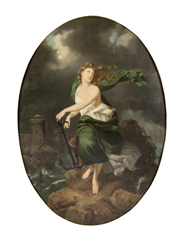 Pittore della fine del XVIII Secolo | Allegoria della Speranza | Hope