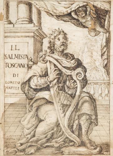 Pittore del XVII secolo | Disegno dal Frontespizio de