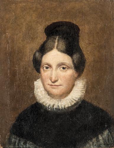 Pittore del XIX secolo | Ritratto di Gentildonna |  Gentlewoman Portrait