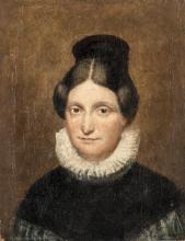 Pittore del XIX secolo   Ritratto di Gentildonna    Gentlewoman Portrait