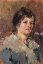 Pittore del XIX secolo   Ritratto femminile  