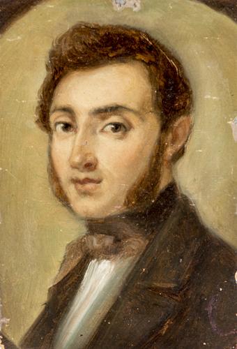 Pittore del XIX secolo | Ritratto di Gentiluomo |