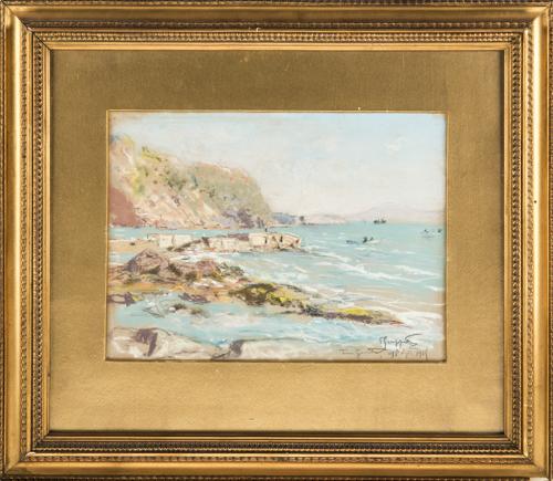 Pietro Scoppetta (Amalfi 1863, Napoli 1920) | Torre del Greco |