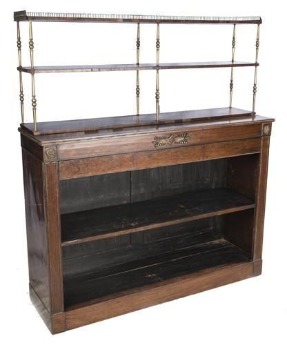 | Libreria a giorno con alzata XIX secolo | Nineteenth Century Bookcase