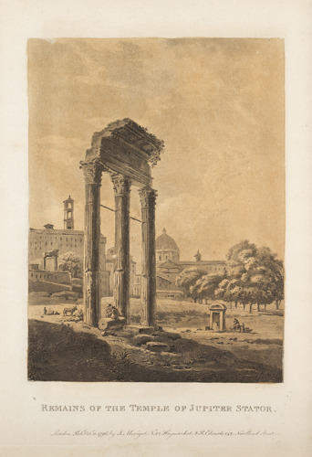 | cinque antiche stampe con Vedute |