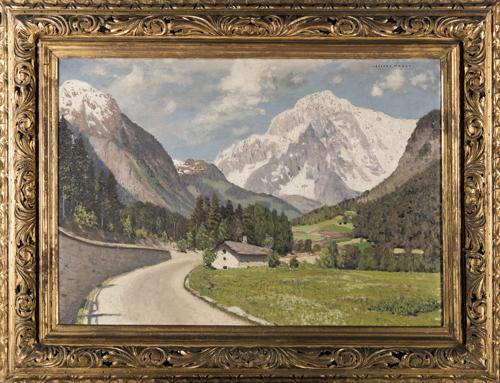 Cesare Maggi (Roma 1881, Torino 1961) | Paesaggio Montano | Mountain Landscape