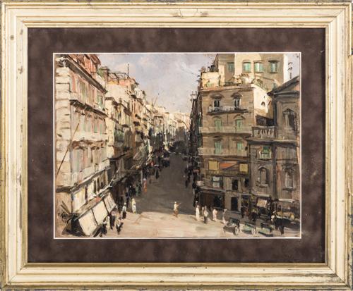 Francesco Galante (Santa Margherita di Savoia 1884, Napoli 1992) | Piazza Trieste e Trento |