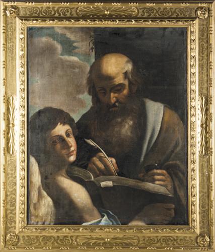 Giovanni Francesco Barbieri, detto Guercino (Cento 1591, Bologna 1623), Seguace di | San Matteo Evangelista | St. Matthew
