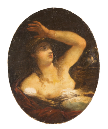 Pietro Liberi (Padova 1605, Venezia 1687), Attribuito a | La Sibilla | The Sibyl
