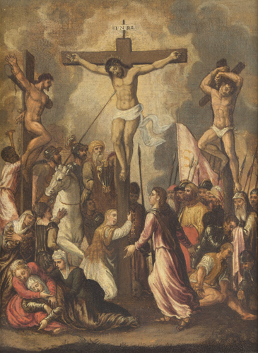 Pittore del XVII secolo | Crocifissione | Crucifixion of Christ