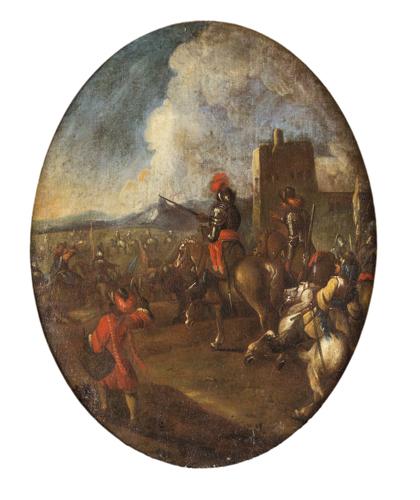 Pittore del XVIII secolo | Scena di battaglia | Battle Scene