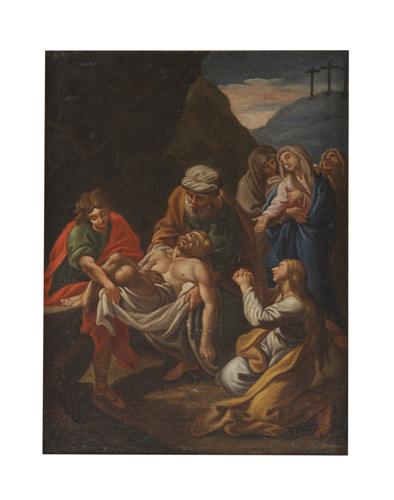 Scuola Italiana del XVII secolo | Deposizione | The Entombment of Christ