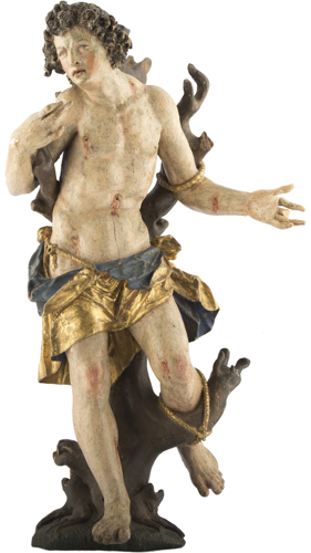 Maestro del XVI secolo | San Sebastiano | San Sebastian Sculpture