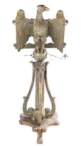 | Grande leggio con aquila araldica XVII secolo | Large music stand with heraldic eagle Seventeenth Century
