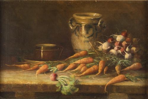 Scuola Italiana del XX secolo | Natura Morta | Still Life with Carrots