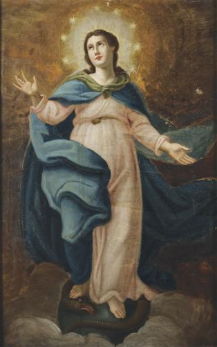 Pittore del XIX secolo | Assunzione della Beata Vergine Maria | St. Virgin Mary Assumption