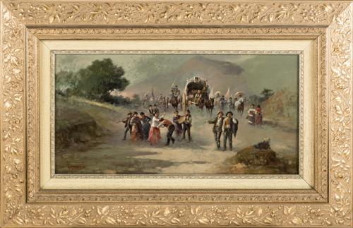 Vincenzo Labella (Napoli 1872, Napoli 1954) | Ritorno a Monte Vergine | Return to Vergine Montain