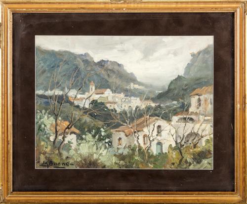 Leon Giuseppe Buono (Pozzuoli 1888, Pozzuoli 1976) | Ravello | Ravello