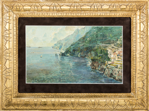 Antonio Ferrigno (Maiori 1863, Salerno 1940) | Costiera Amalfitana |  Amalfi Coast