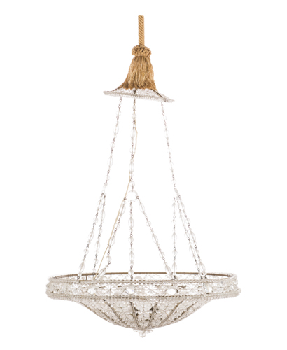 lampadario cristalli : Lot 289: Lampadario in cristallo Crystal Chandelier