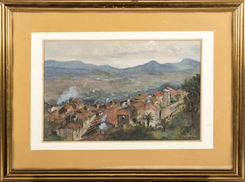 Nicola Biondi (Capua 1866, Napoli 1929) | Paesaggio | Landscape