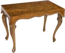 | Tavolinetto in radica di noce | Walnut Coffee Table