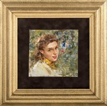 Giovanni Panza (Miseno 1894, Napoli 1989)   Fanciulla   Young Girl