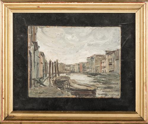 Antonio Asturi (Vico Equense 1904, Vico Equense 1986) | Canal Grande a Venezia | Canal Grande in Venice