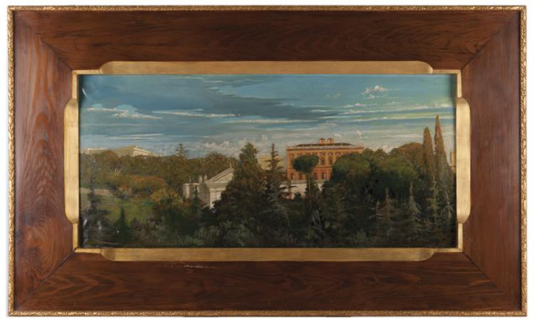 Pittore della fine del XIX secolo | Villa Romana | Roman Villa