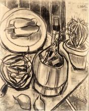 (Emilio Notte Ceglie Messapica 1891-Napoli 1982).Still life 1918