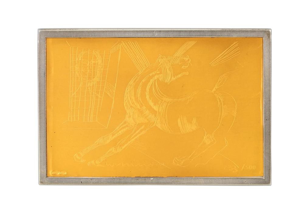Lot 204: SERIGRAPHIES SIGNED BY GUTTUSO AND CASSARI