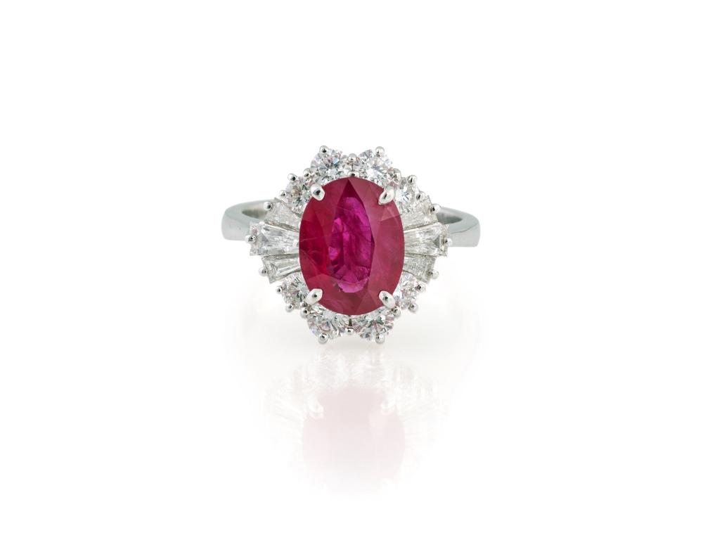 BURMANESE RUBY RING