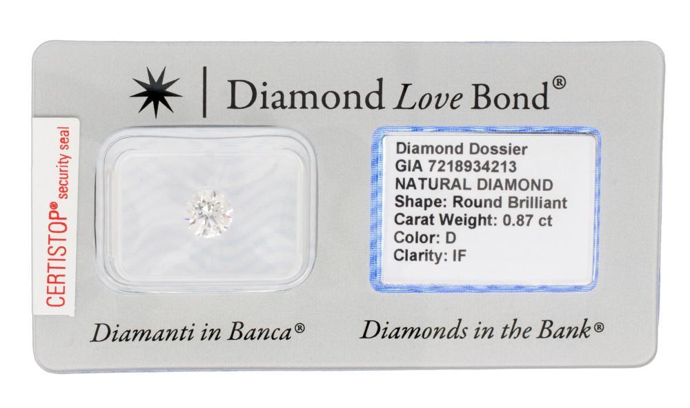 Lot 254: DIAMOND GIA