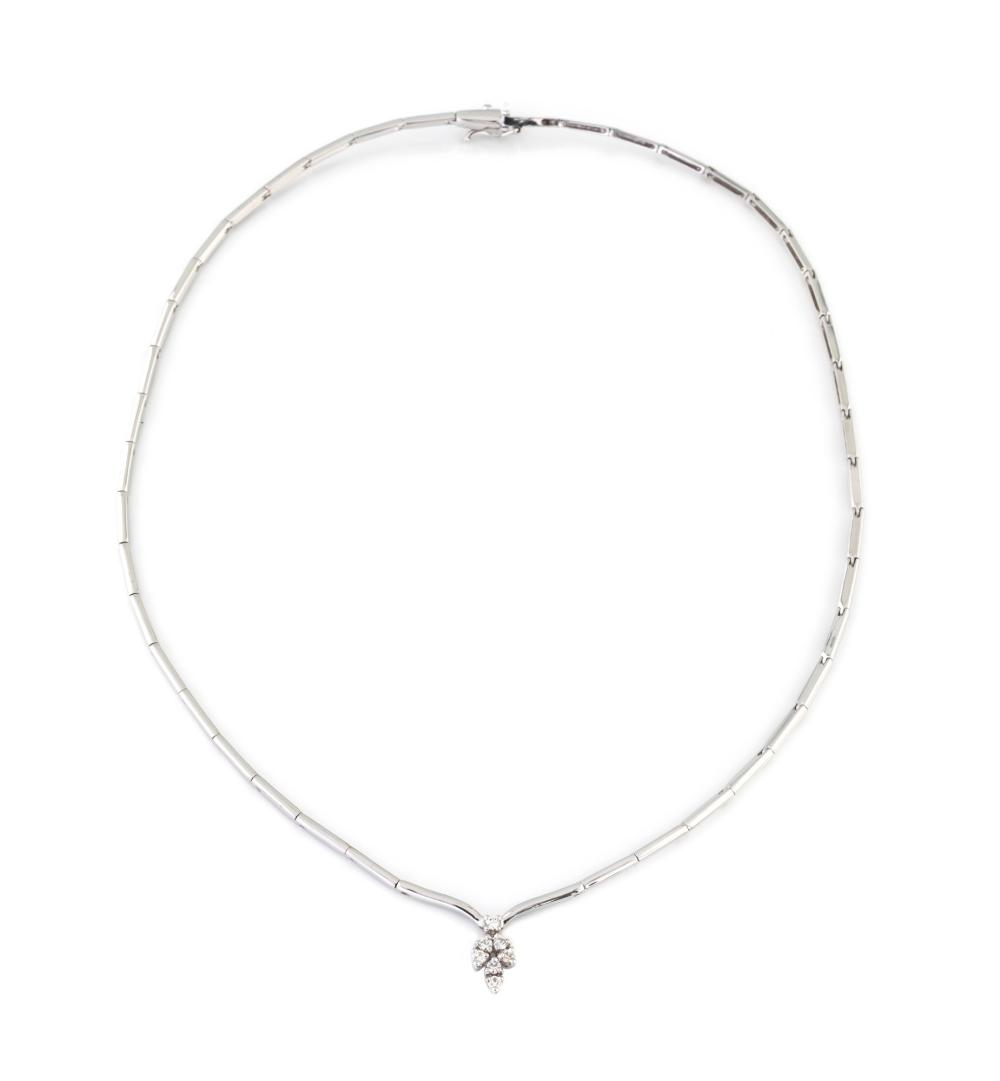 DIAMOND SEMIRIGID NECKLACE