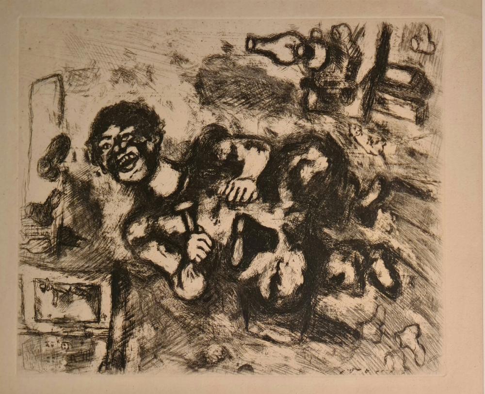 Chagall Marc - Senza titolo