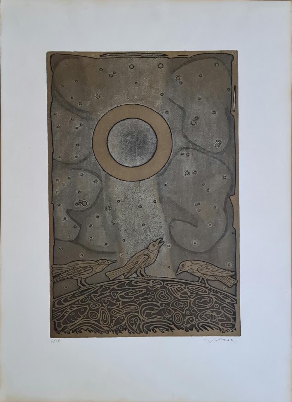 Casorati Francesco - Uccellini
