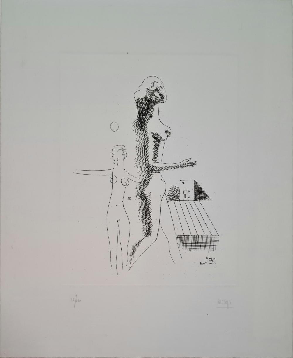 Tozzi Mario - Senza titolo, 1969