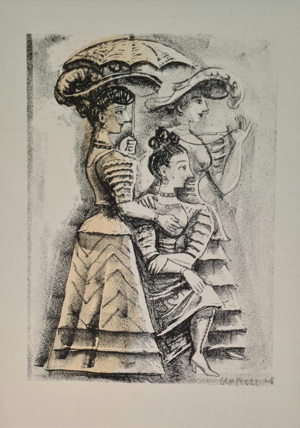 Campigli Massimo - Senza titolo,1948