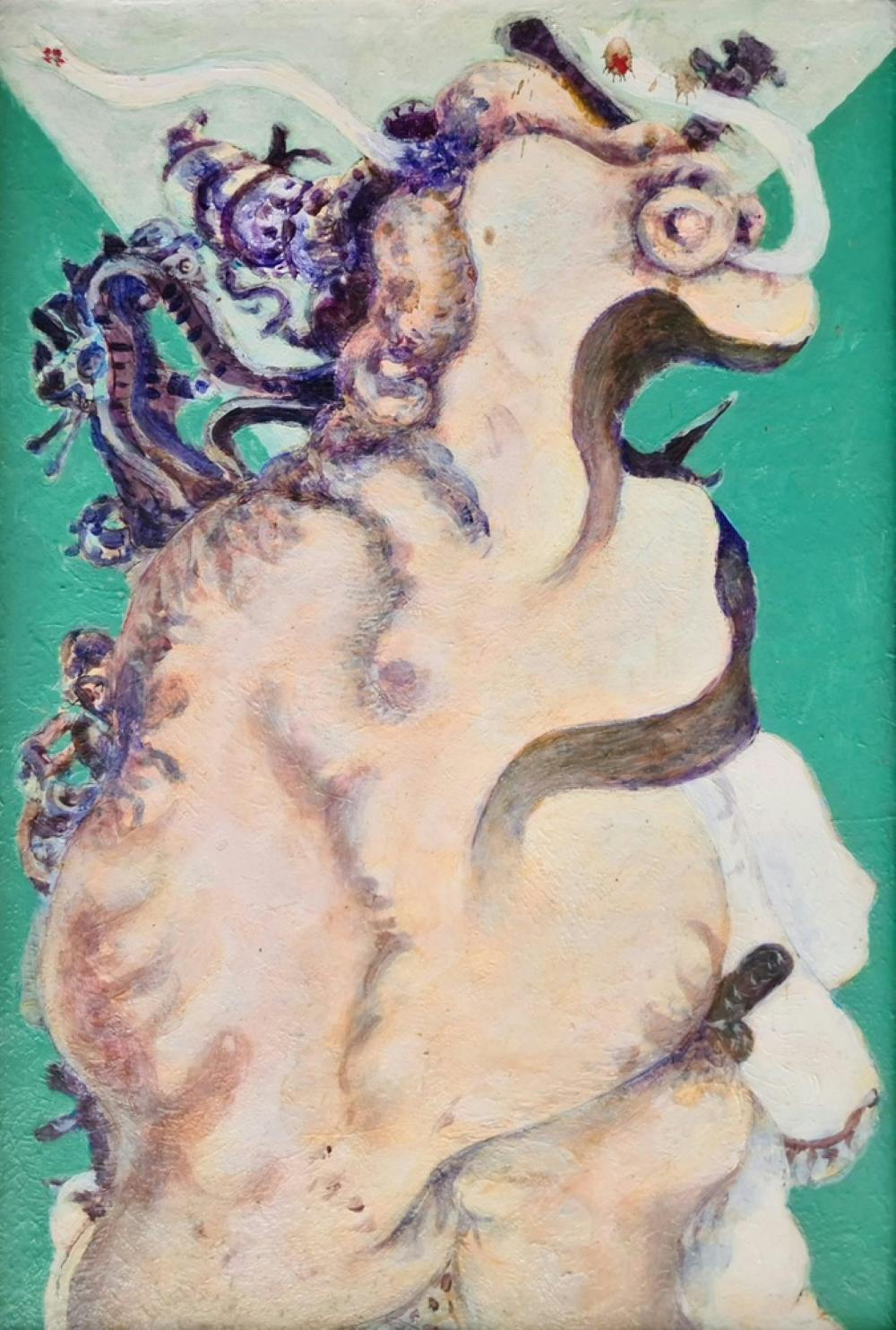 Carmassi Arturo - La nascita di Eva, '70