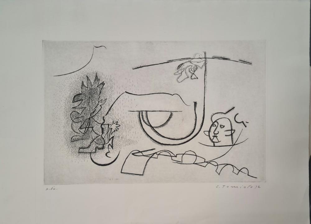 Tomiolo Eugenio - Senza titolo, 1972