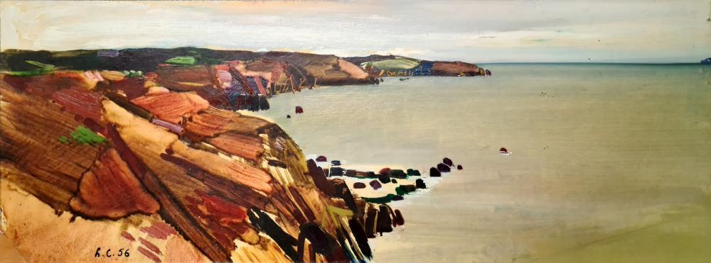 Cremonini Leonardo - La costa bretone, 1956